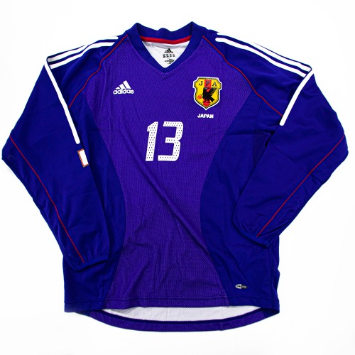 JAPAN 2001-2002 HOME L/S (AUTHENTIC) L #13 YANAGISAWA