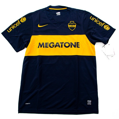 BOCA JUNIORS 2007-2008 HOME S/S M #10 ROMAN