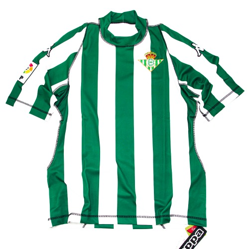 REAL BETIS 2003-2004 HOME S/S XL #17 JOAQUIN
