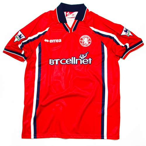 MIDDLESBROUGH 1999-2000 HOME S/S L #23 JUNINHO