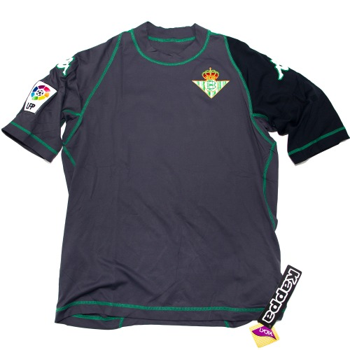 REAL BETIS 2001-2002 AWAY S/S XL #17 JOAQUIN