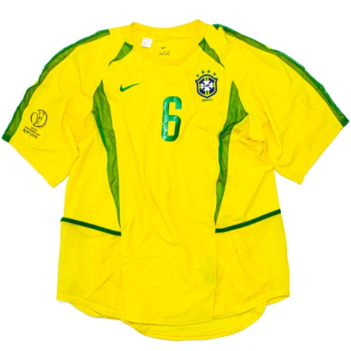 BRASIL 2002-2004 HOME AUTHENTIC L #6 R.CARLOS