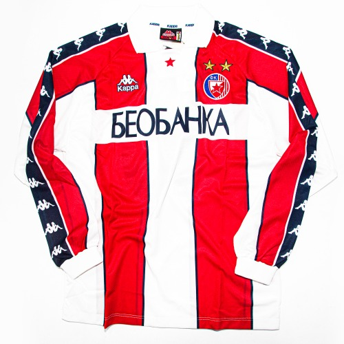 BELGRADE 1995-1996 HOME L/S XL #10 STANKOVIC (W/TAG)