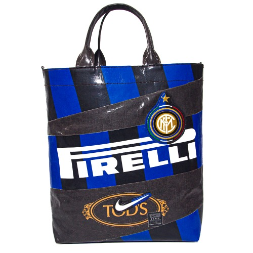 [#1 P X OFTEN TOLD] INTERMILAN 09-10 HOME #9 ETOO BIG SHOPPER BAG