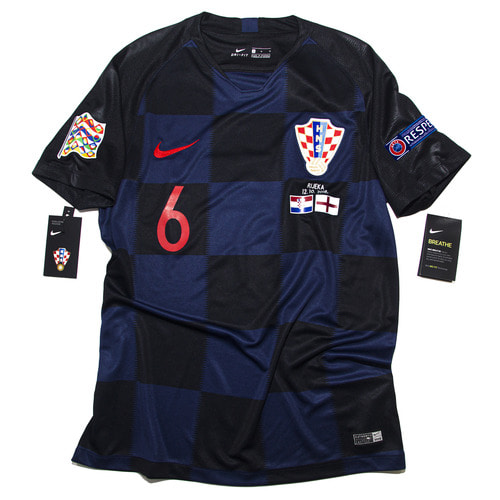 CROATIA 2018 AWAY S/S M #6 LOVREN (W/TAG)