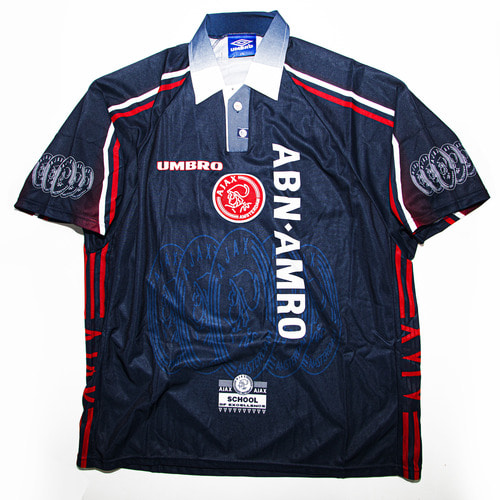 AJAX 1997-1998 AWAY S/S XXL #11 LAUDRUP