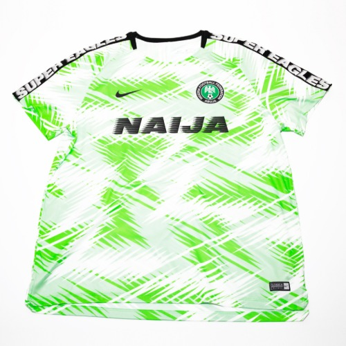 Nigeria 2018 TRAINING S/S XXL   (W/TAG)