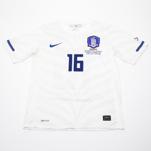 KOREA 2010-2012 AWAY S/S S #16 SUNGYUENG