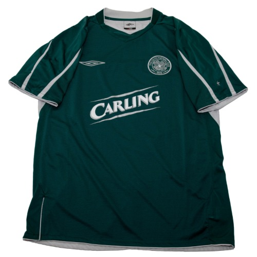 Celtic 2004-2005 AWAY S/S M #7 JUNINHO (W/TAG)