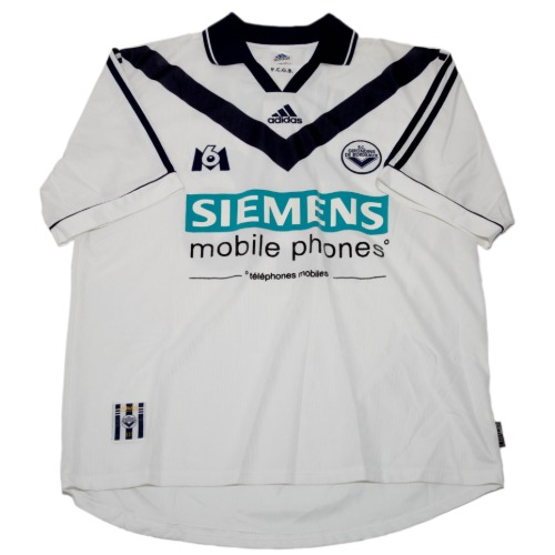 Bordeaux 2000-2001 AWAY S/S L #26 DUGARRY