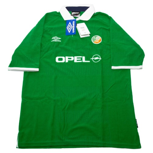 IRELAND 2000-2001 HOME S/S L (W/TAG)